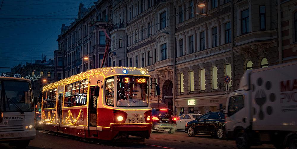 Российские города в ожидании Нового года