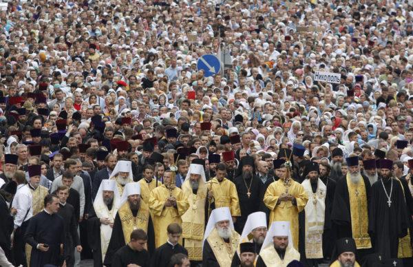 На Украине более 400 тысяч человек подписали «Декларацию о сохранении Украинской Православной Церкви»