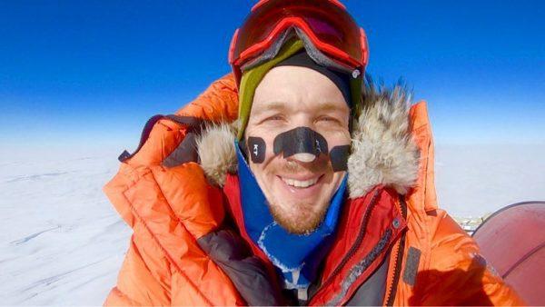 Первый в истории человек пересек Антарктиду в одиночку