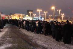 На «объединительный собор» в Киев людей централизовано вагонами свозили со всей Украины