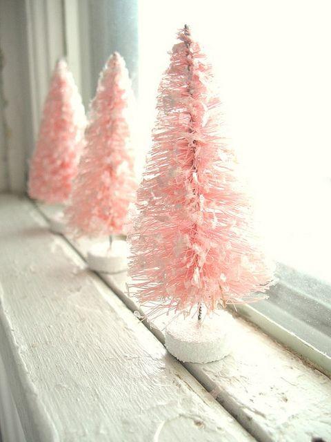 Новогодние поделки своими руками - елочка из ершика