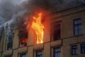 На пожарах в России с начала года погибло около 400 детей