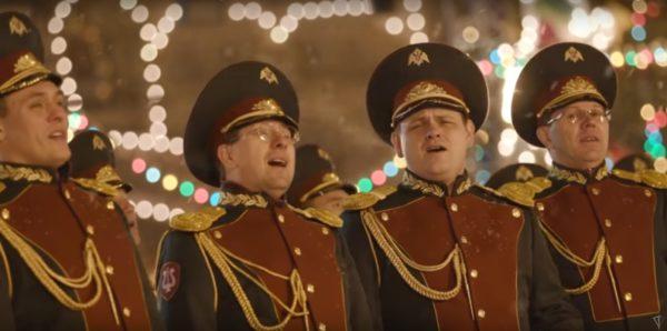 Ансамбль Росгвардии выпустил клип на песню Last Christmas