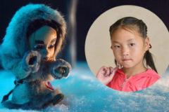«Там, где зима» – мультфильм о девочке, которая прошла по тайге