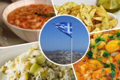 Пост по-гречески – лук, картофель, бобовые