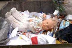 Новорожденную девочку нашли на мусорке в Калуге