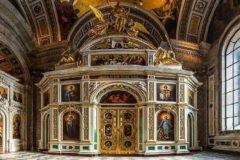 В Исаакиевском соборе впервые после революции освятили Екатерининский придел