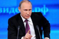 Путин рассказал о проблемах с контролем за исполнением нацпроектов в регионах