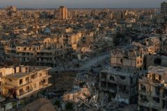 Владимир Путин согласен с Трампом в оценке побед над террористами в Сирии