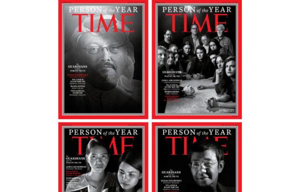 Time назвал «Людьми года» журналистов, которые «пошли на большой риск ради большой правды»