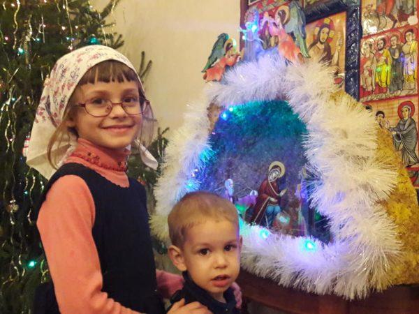 Рождество и тройной праздник в разрушенном храме