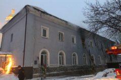В УПЦ прокомментировали сообщения СМИ о пожаре в Киево-Печерской лавре