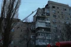 В многоэтажном доме в городе Шахты произошел взрыв газа