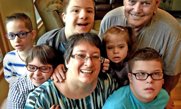 Мама 6 детей с синдромом Дауна: Раньше я считала себя терпеливым человеком