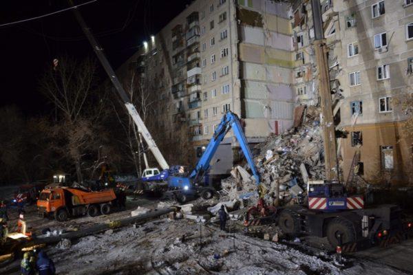 Спасательная операция наместе взрыва вМагнитогорске завершена, найдено 39 погибших