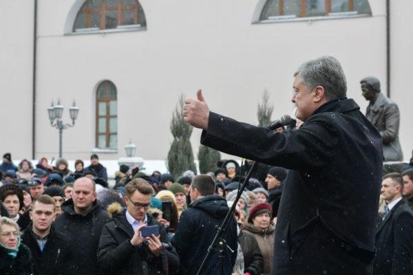 """Ставка на раскол. Зачем Порошенко нужен """"томос-тур"""" по Украине"""