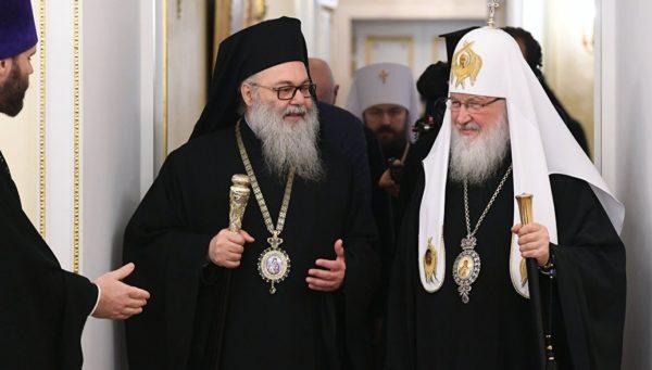 Глава Русской Церкви: Россия продолжит помогать Сирии в возрождении православных святынь