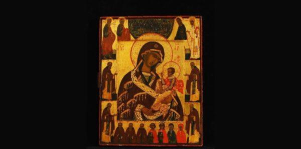 В Историческом музее потеряли старинную икону «Богоматерь Смоленская-Шуйская»