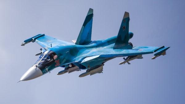 На Дальнем Востоке ищут пилотов столкнувшихся Су-34