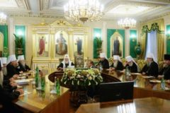 Священный Синод принял заявление о положении Украинской Православной Церкви (ТЕКСТ)