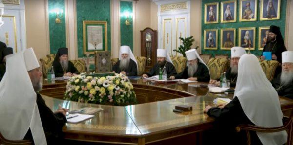 Первое в 2019 году заседание Священного Синода Русской Церкви началось в Москве