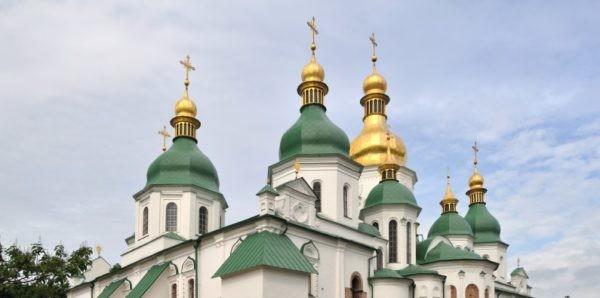 Украинским униатам разрешили провести службу в Софийском соборе