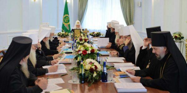 Священный Синод сменил управляющего делами Московской Патриархии