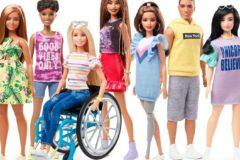 Куклы Барби в инвалидной коляске и с протезом впервые появятся в продаже