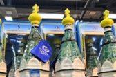 В Красноярске обнаружили в продаже водку в бутылках в виде православного храма