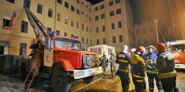 Спасатели не нашли людей под завалами в петербургском университете ИТМО