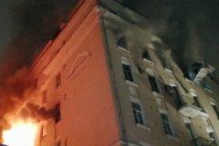 Семь человек погибли при пожаре в центре Москвы