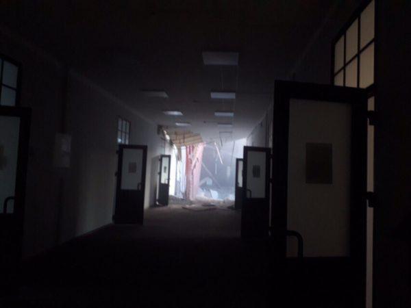 В здании петербургского университета ИТМО обрушились перекрытия