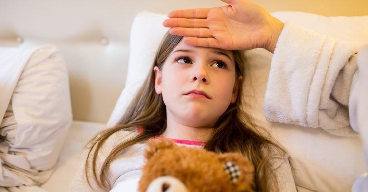 Что делать если у ребенка большая температура