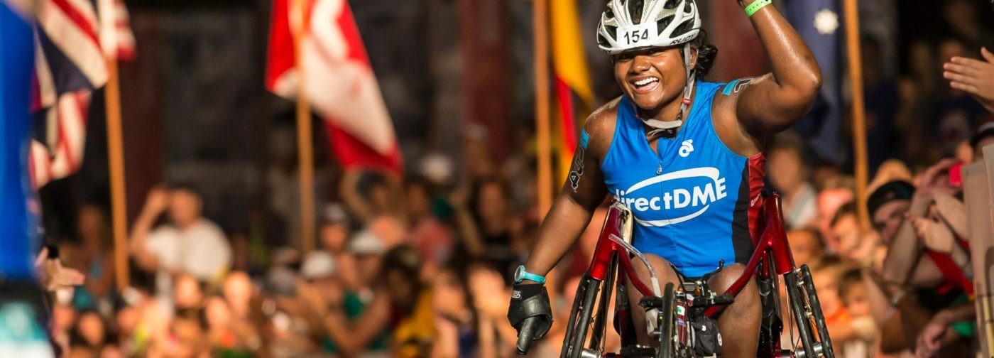 Впервые чемпионат Ironman преодолела женщина-колясочница. И это была я, парализованная сирота из Индии