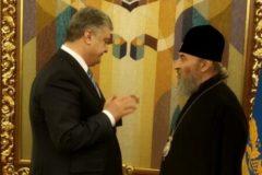 Митрополит Онуфрий призвал Порошенко прекратить захваты храмов УПЦ