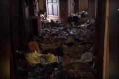 В Москве спасли девочку-маугли, брошенную в захламленной квартире