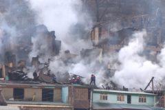 В Дагестане собрали гуманитарную помощь для жителей села, где сгорели 17 домов