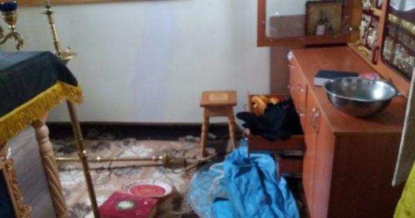 В Житомирской области на Благовещение ограбили храм УПЦ