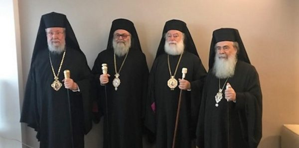 Предстоятели четырех древнейших Церквей призвали защитить верующих и храмы на Украине
