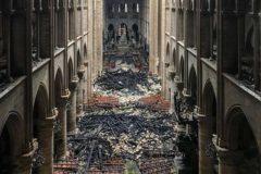 Нотр-Дам – что именно горело и от чего спасли собор пожарные