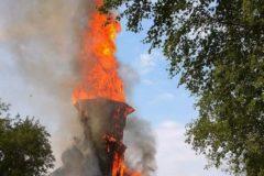 Подростка, подозреваемого в поджоге Успенской церкви в Карелии, отправили на лечение