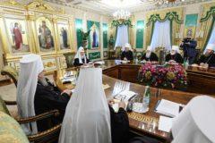 Журналы заседания Священного Синода от 4 апреля 2019 года