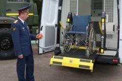 ФСИН показала автозаки для перевозки детей и инвалидов