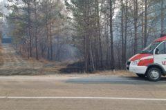 Из-за лесного пожара в Амурской области эвакуировали детский санаторий