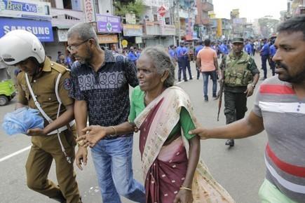 Седьмой и восьмой взрывы прогремели на Шри-Ланке