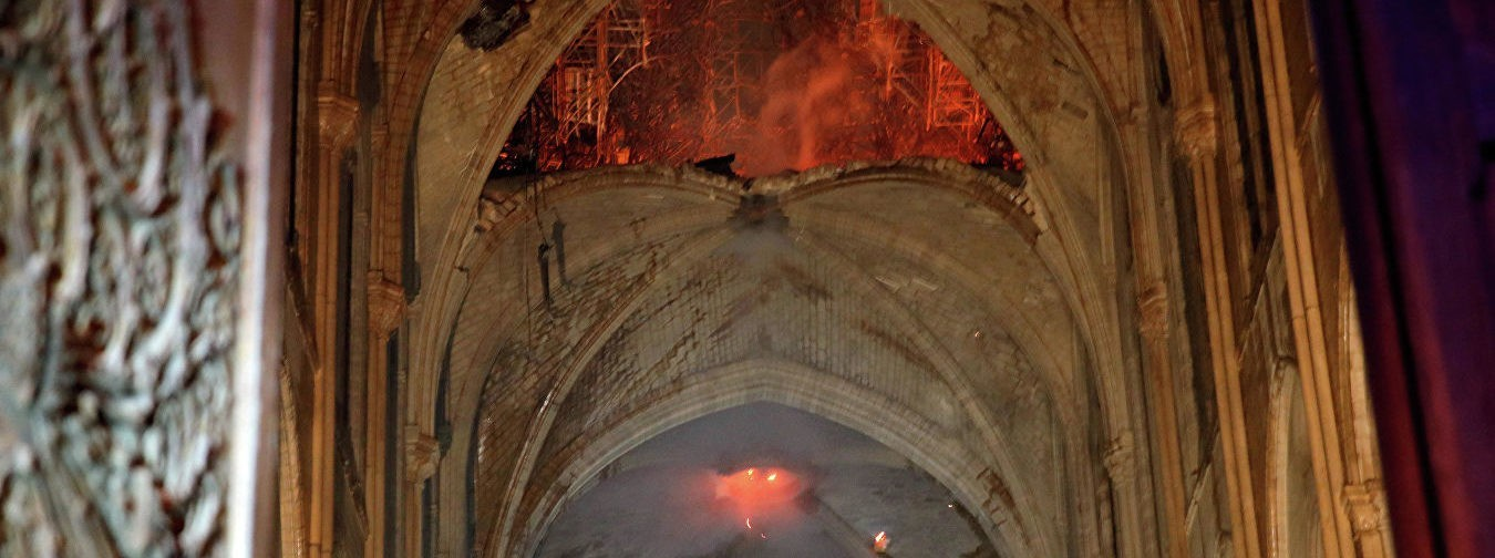 Пожар в соборе Парижской Богоматери потушили. Что известно на данный момент