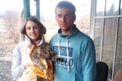 В Горном Алтае мужчина спас кота, которого выбросили в реку в мешке