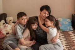 Одна с детьми – без помощи не выжить