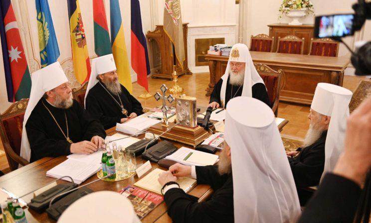 Журналы заседания Священного Синода от 30 мая 2019 года