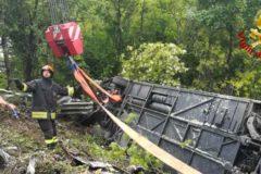 В Италии разбился автобус с российскими туристами: один человек погиб и десять пострадали